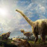 Cretaceous meteor scene