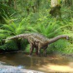 Magyarosaurus, a dwarf species of island-living Sauropod