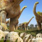 Sauropod nest